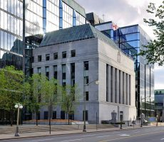 Key interest rate increase by Bank of Canada