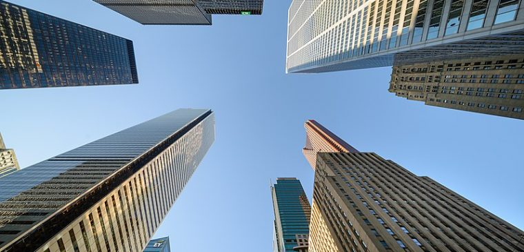 Prime rate increase as Canadian banks skyscrapping in downtown Toronto's financial district